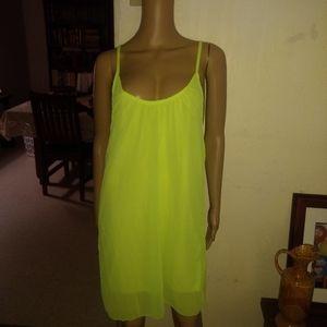 Dresses & Skirts - Neon shift dress